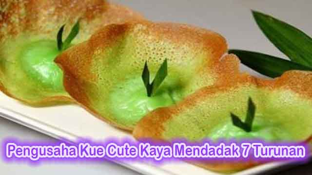 Pengusaha Kue Cute Kaya Mendadak 7 Turunan